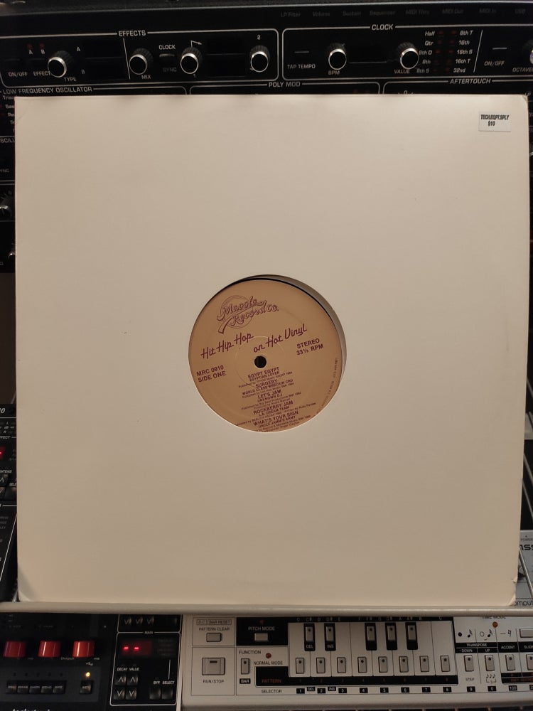Image of Various ‎– Hit Hip Hop On Hot Vinyl