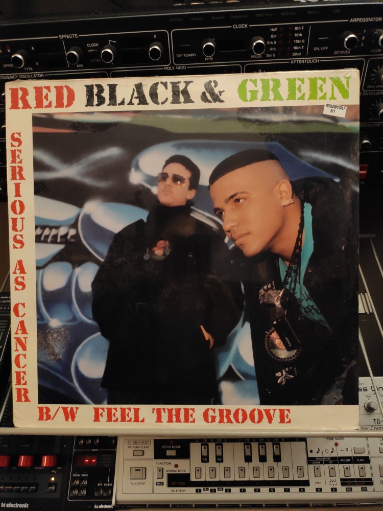 Image of Red Black & Green ‎– Serious As Cancer / Feel The Groove