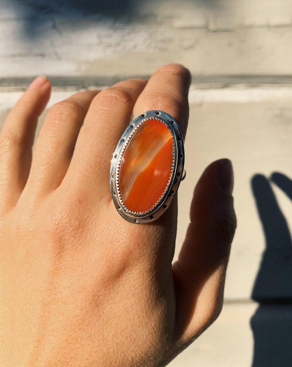 Image of Carnelian Ring