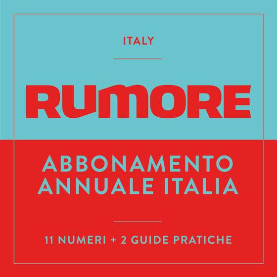 Image of ABBONAMENTO ANNUALE - ITALIA