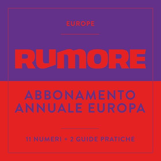Image of ABBONAMENTO ANNUALE - EUROPA