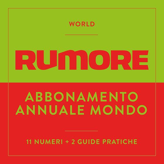 Image of ABBONAMENTO ANNUALE - MONDO