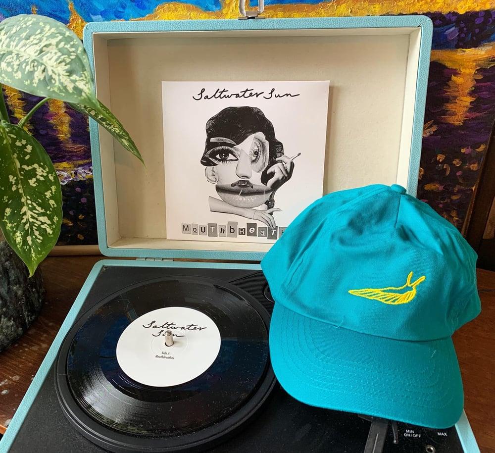 Image of Emerald Slug Cap + Mouthbreather Vinyl Bundle