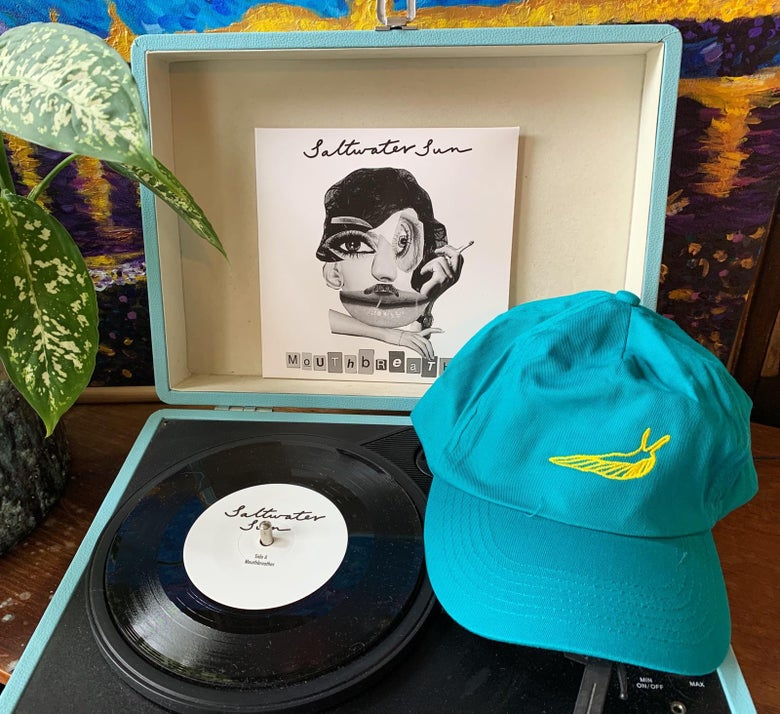 Image of Emerald Slug Cap + Mouthbreather Vinyl Bundle