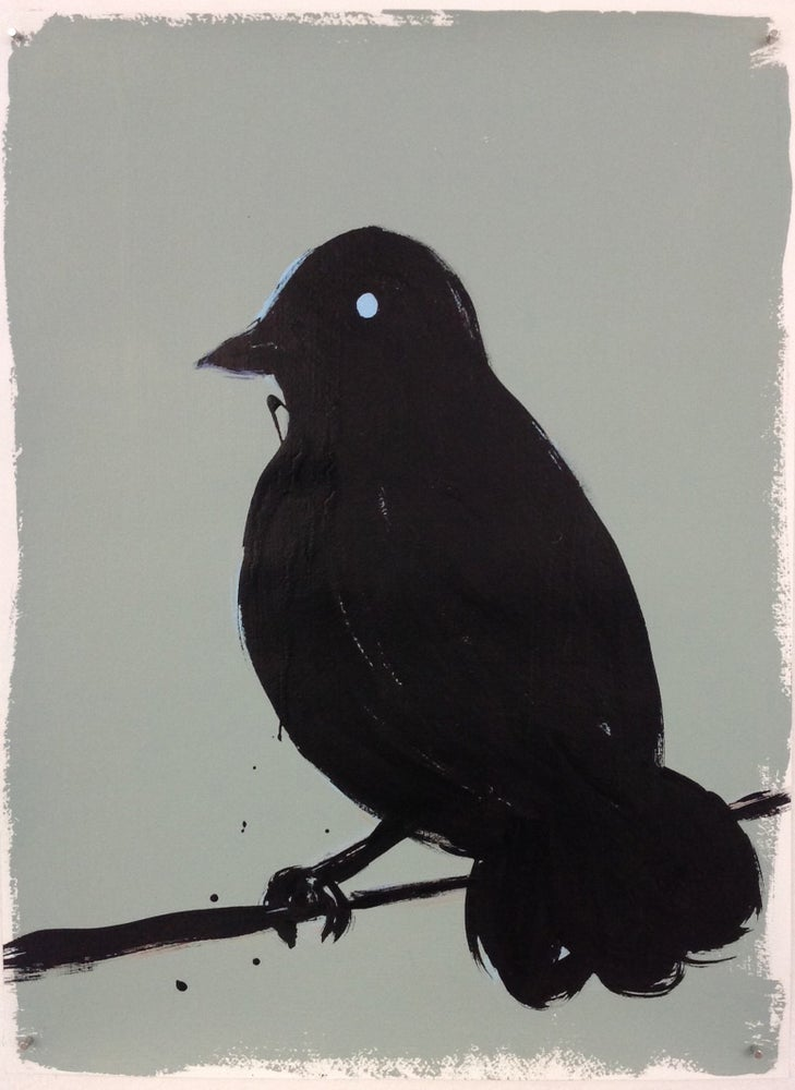 Image of Russ Pope - Untiled (black bird)