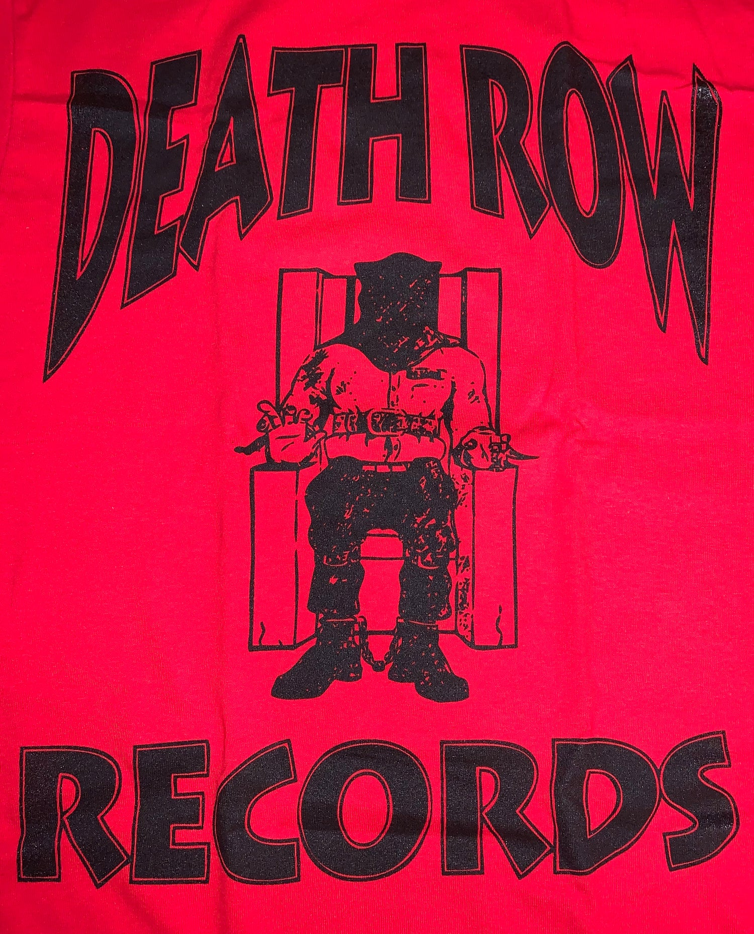 Image of Death Row Records T-Shirt Mens
