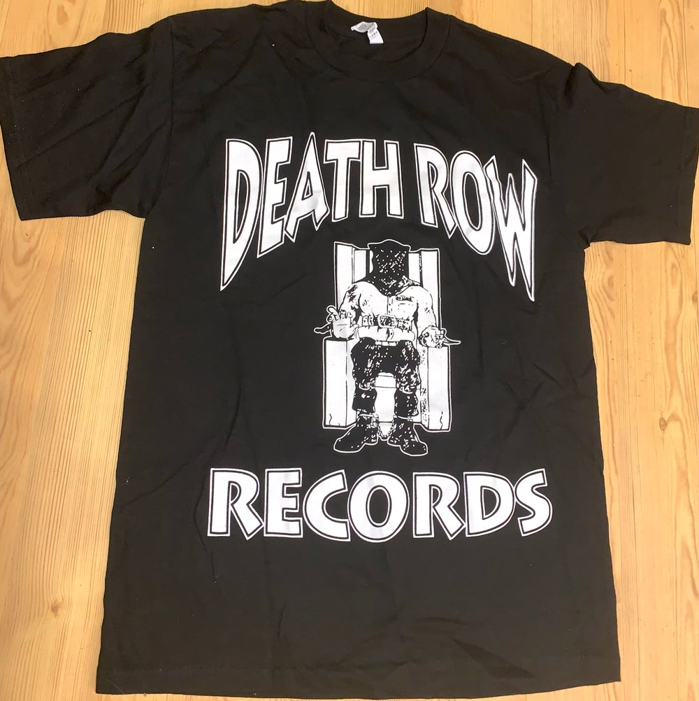 Image of Death Row Records T Shirt Mens