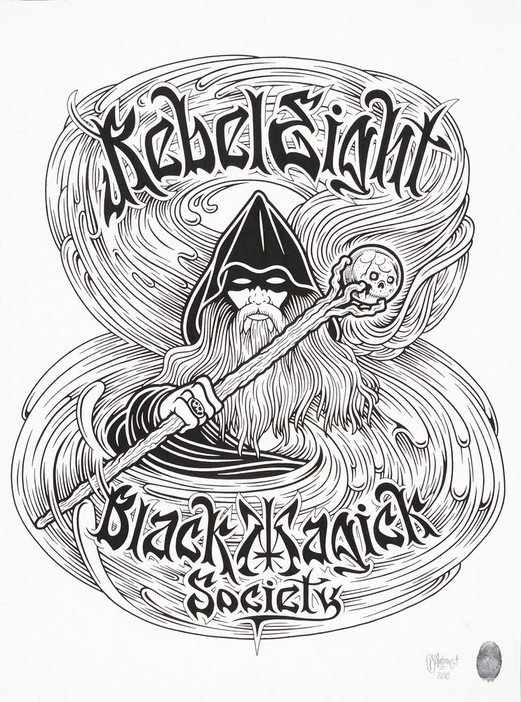 Image of Mike Giant - Black Magick Society