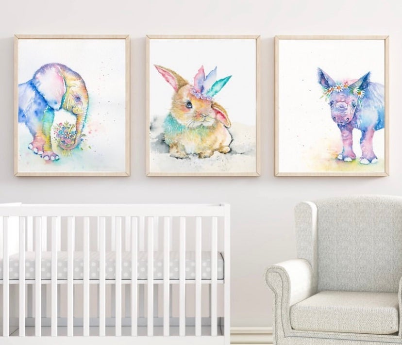 "Image of ""Hey there Delilah"" the baby bunny -FREE SHIPPING within Australia"