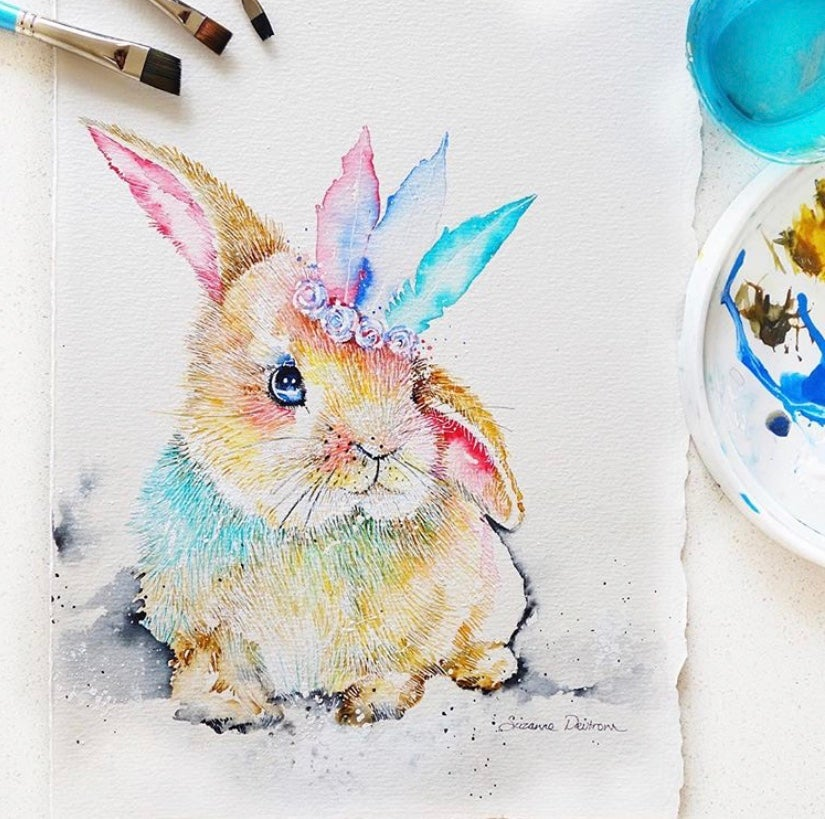 """Image of """"Hey there Delilah"""" the baby bunny -FREE SHIPPING within Australia"""