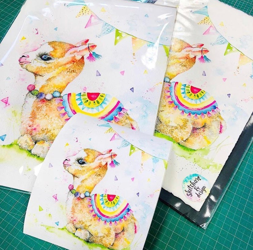 Image of Lanna - The baby Llama with FREE SHIPPING