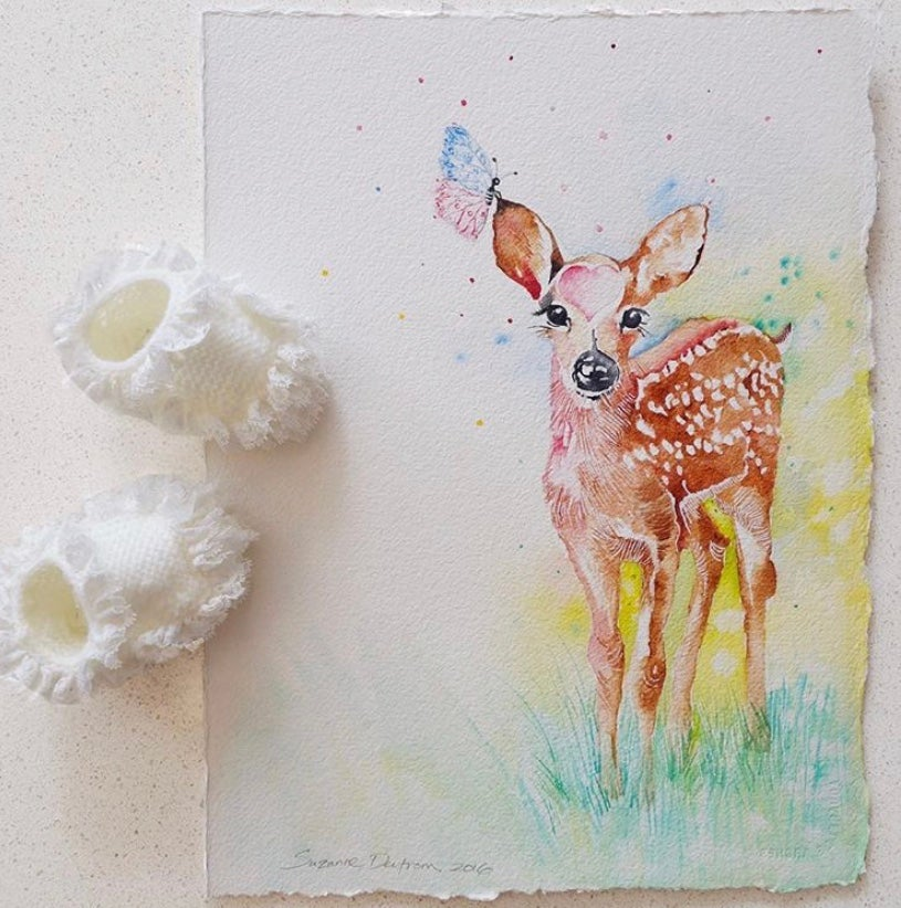 Image of Buttercup the baby Deer With FREE POSTAGE