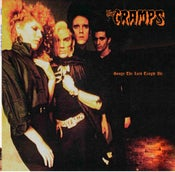 Image of LP. The Cramps : Songs The Lord Taught Us.  LAST COPIES WITH POSTER.