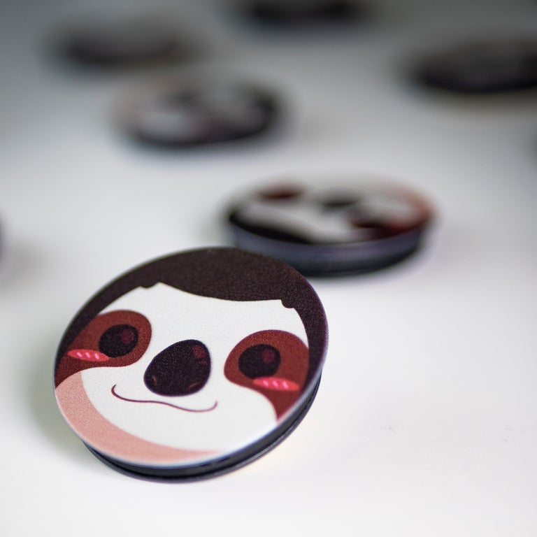 Image of Sammy The Sloth Pop Socket