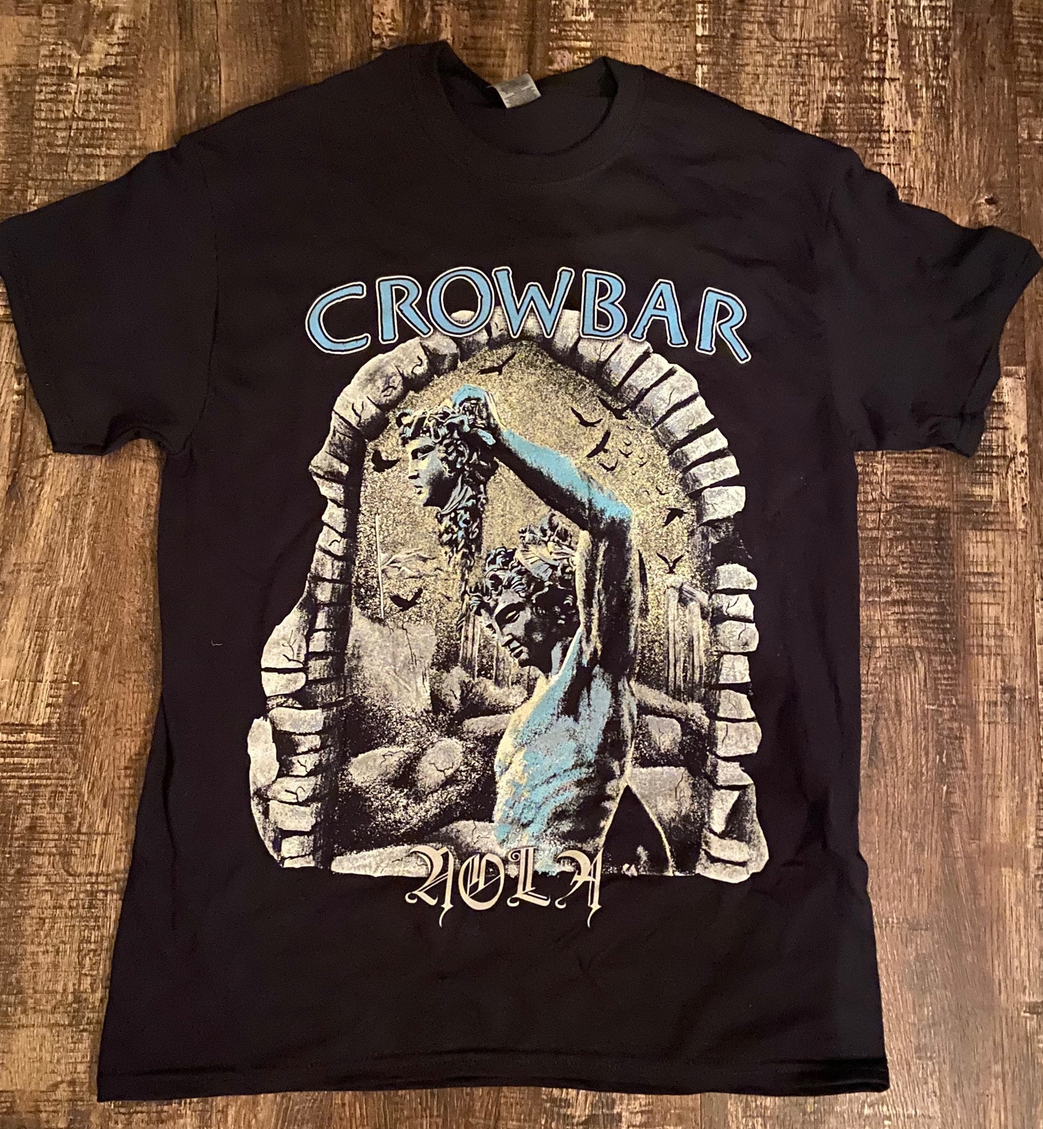 "Image of CROWBAR ""WILL THAT NEVER DIES"" SHIRT"