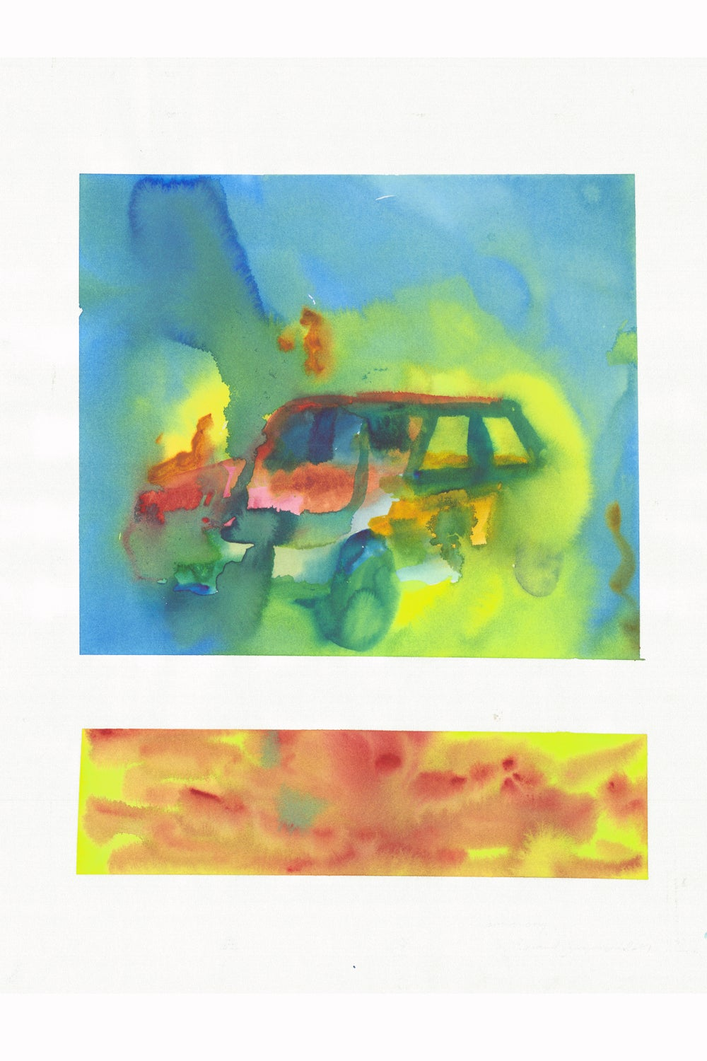 Image of BURNING CAR