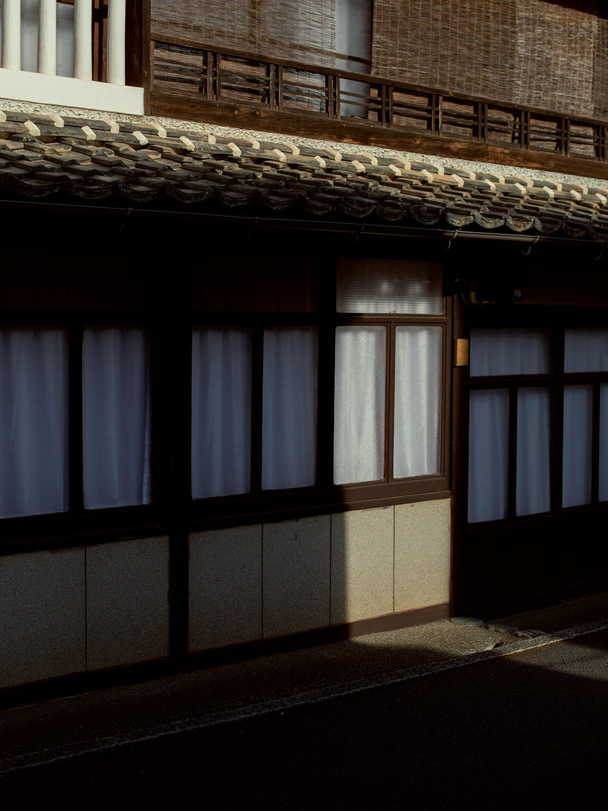Image of Street in Uchiko - print