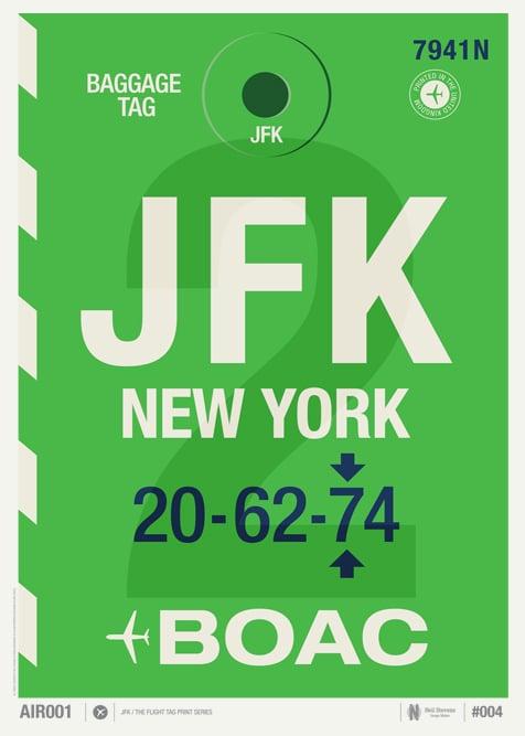 Image of JFK / New York (Sale/Return)