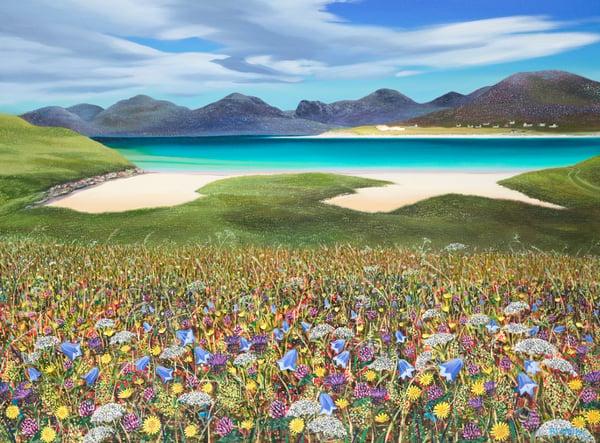 Image of Harris flowers giclee print