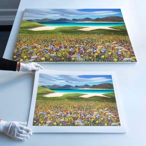 Image of Harris flowers giclee print