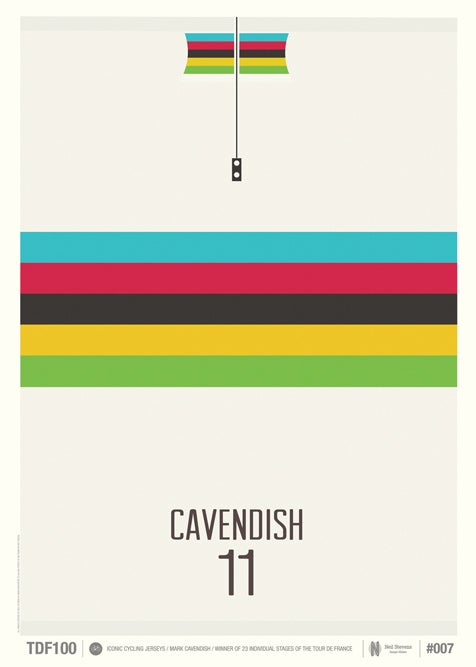 Image of Mark Cavendish 2011 Jersey