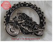 Image of  CRAZY CAVAN BIKER PIN BADGE