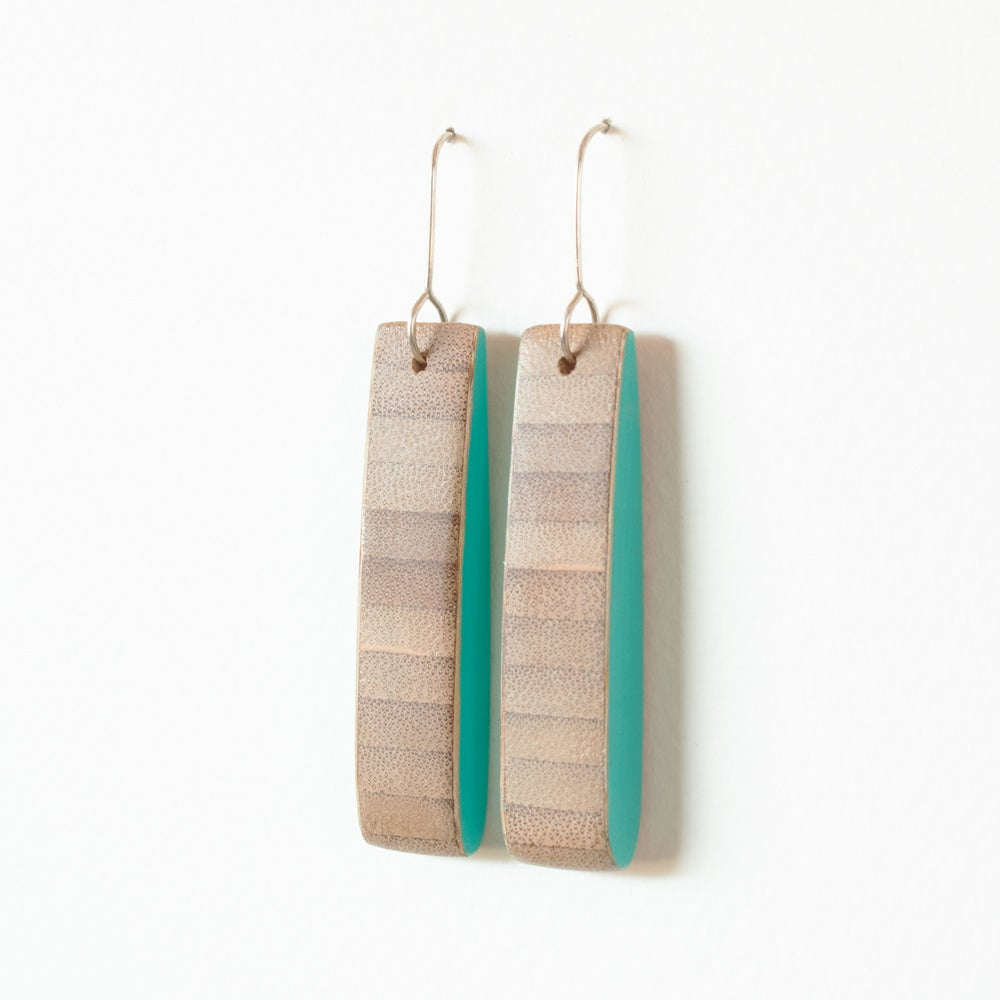 Bamboo with Turquoise