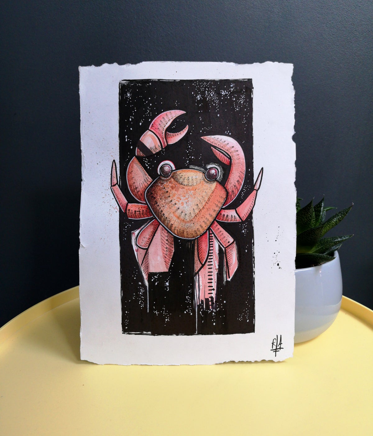 Pré-vente KRAB (illustration originale)