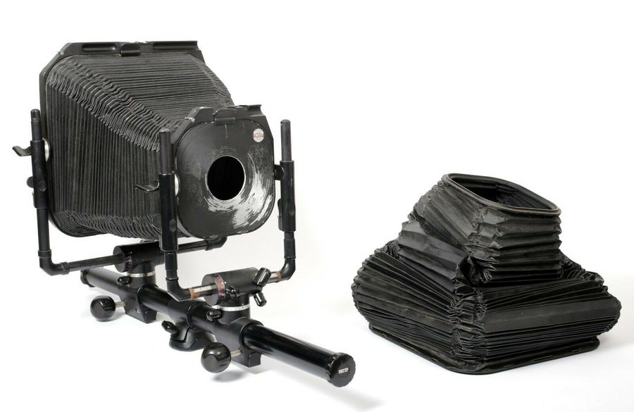 Image of Fatif DS 8X10 Monorail Camera + Extra Bellows