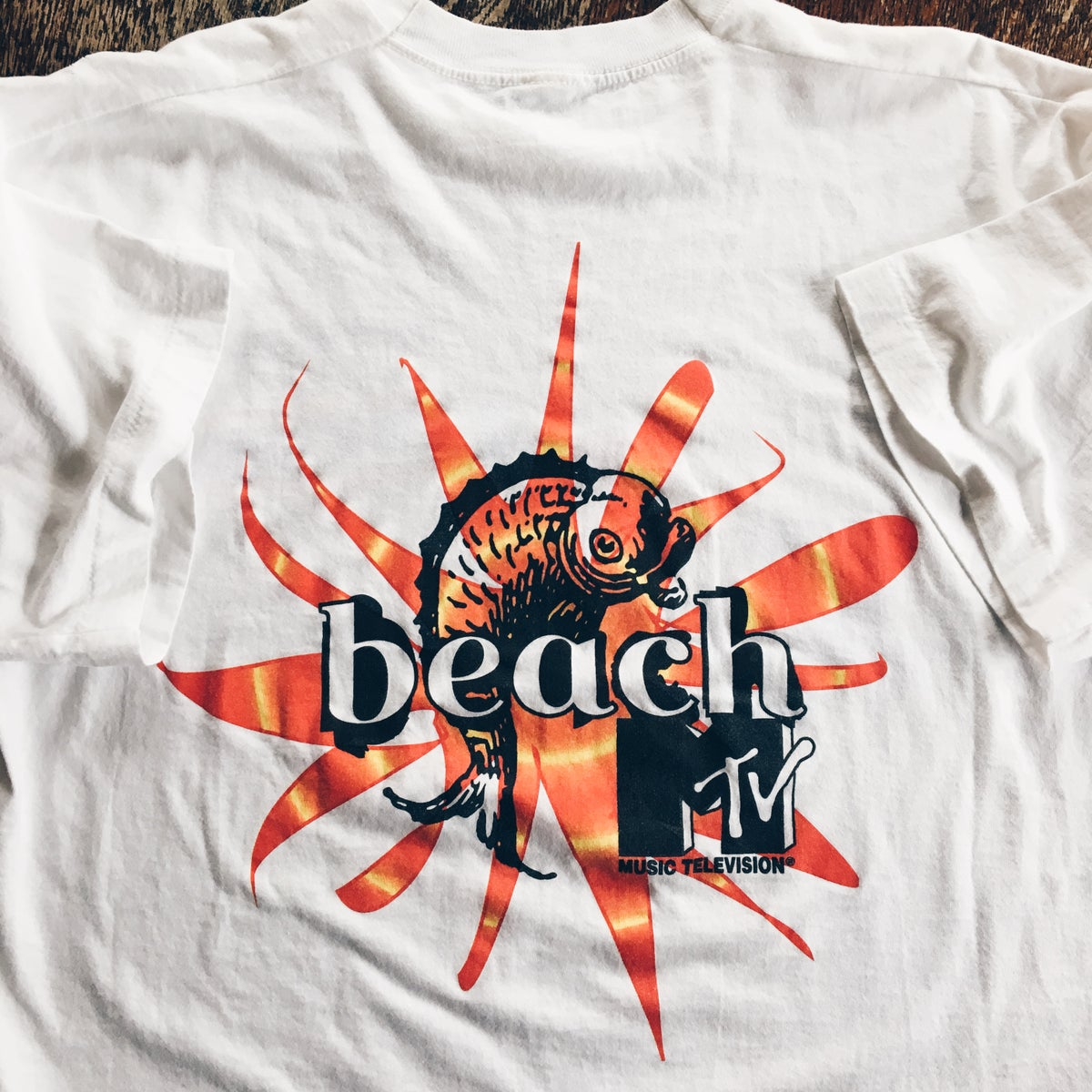 Image of Original 90's MTV Beach Tee.
