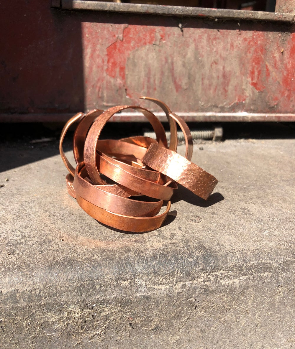 Image of SOLID COPPER Bangle (Adult)