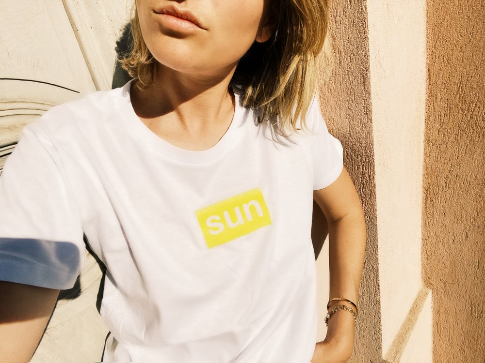 Image of Tee Shirt SUN adulte