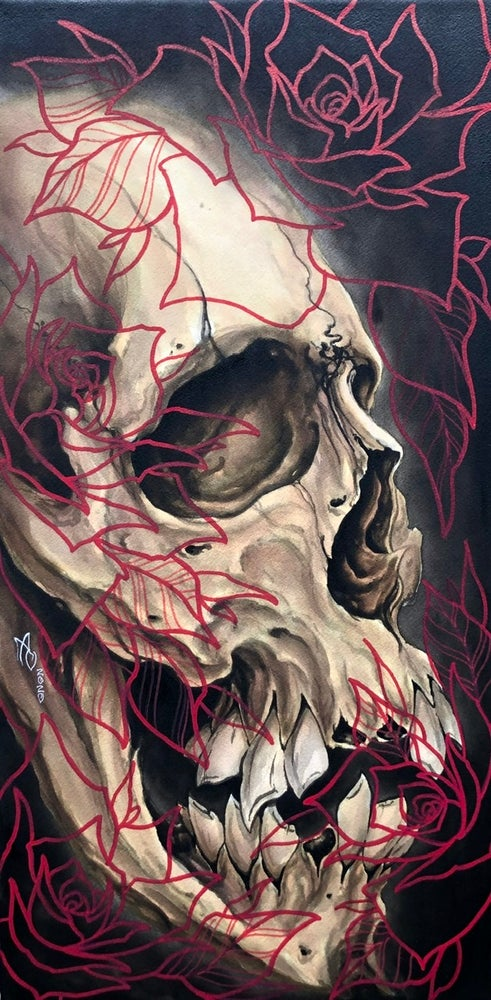 Image of Limited edition skull print - preorder