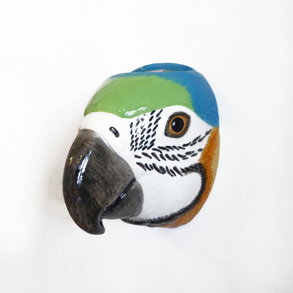 Image of Parrot Wall Vase