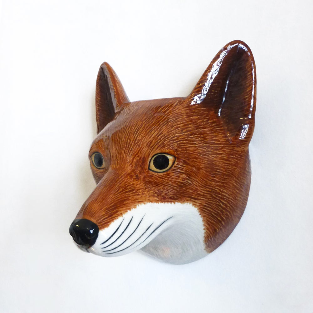 Image of Fox Wall Vase