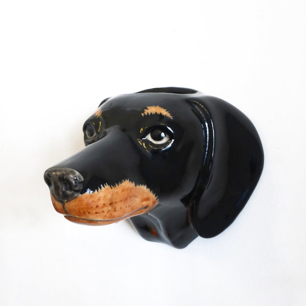 Image of Dachshund Wall Vase