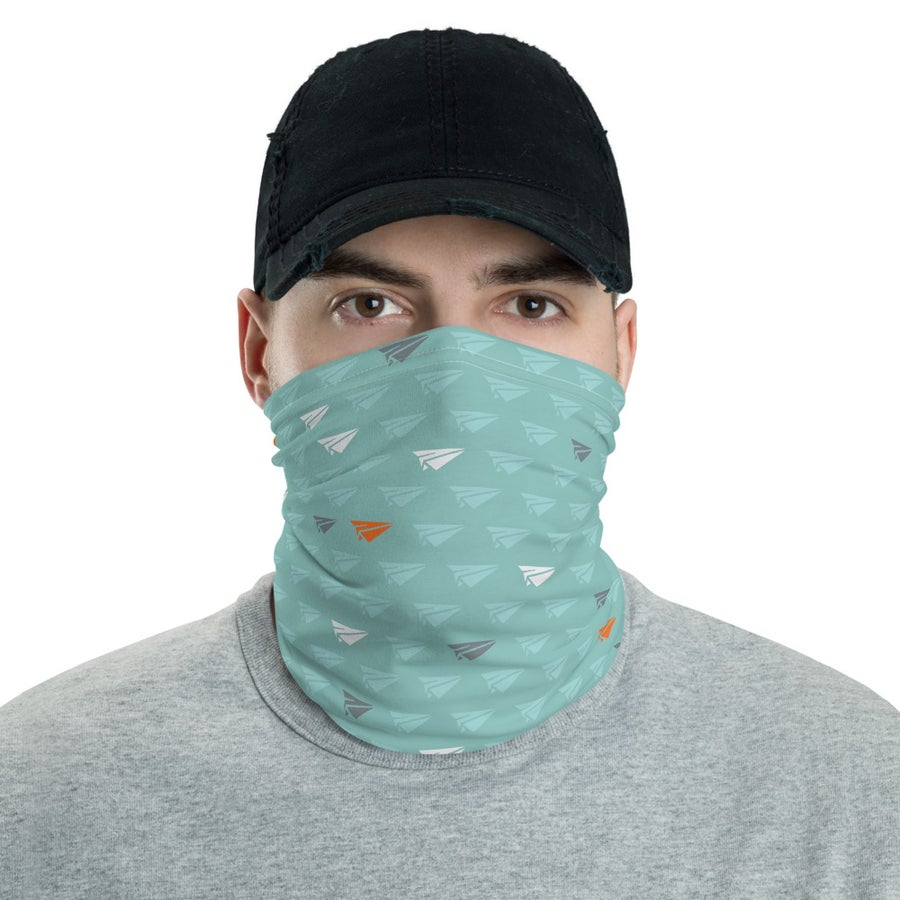 Image of Paperplane Neck Gaiter