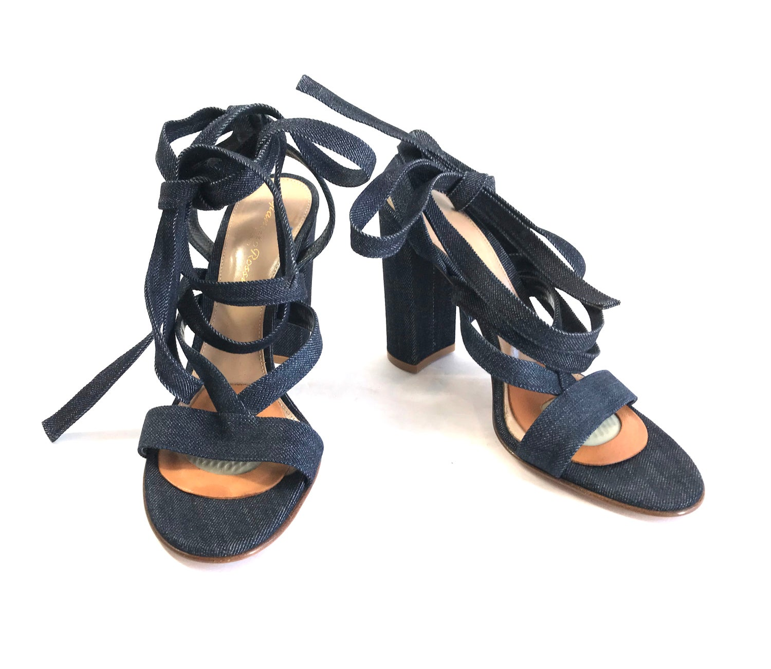 Image of Gianvito Rossi Size 37.5 Sandals 6-895