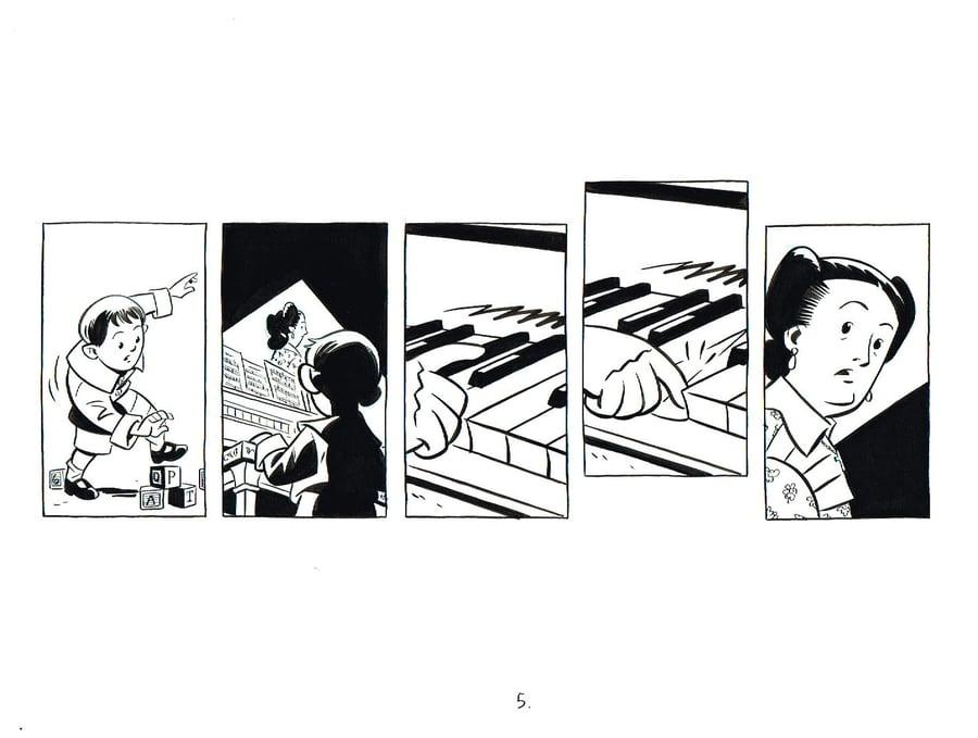 Image of BIX page 5 original art