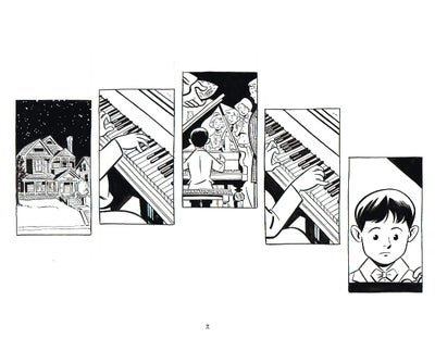 Image of BIX page 7 original art