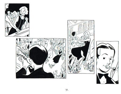 Image of BIX page 71 original art