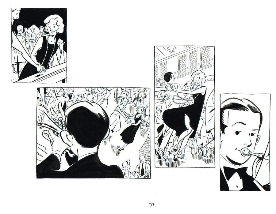 Image of BIX page 71 original art