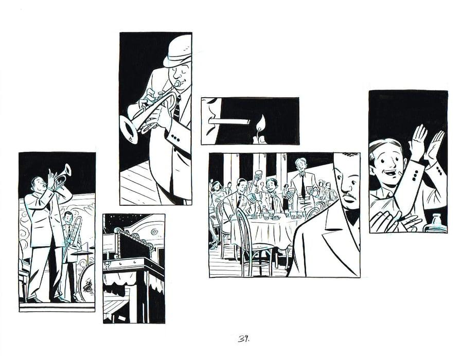 Image of BIX page 39 original art