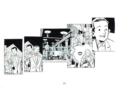 Image of BIX page 121 original art