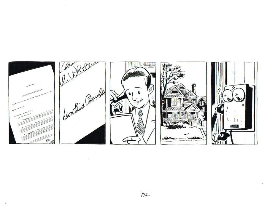 Image of BIX page 136 original art