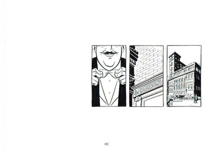 Image of BIX page 141 original art