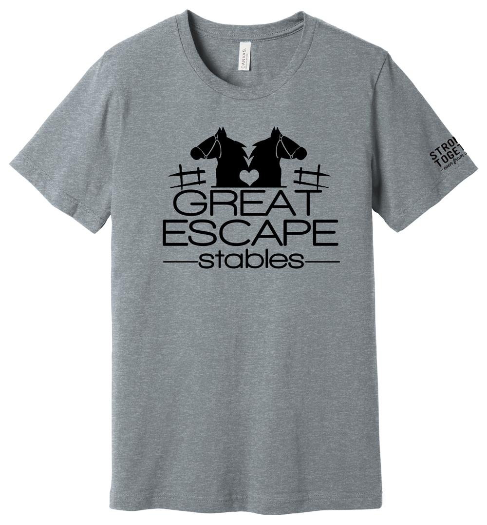 """Great Escape Stables """"Stronger Together"""" Tee"""