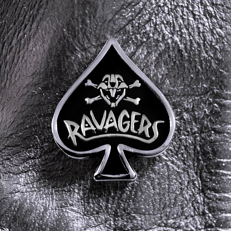 Image of RAVAGERS SPADE ENAMEL PIN