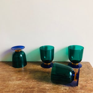 Image of Set of 4 Acrylic Goblets
