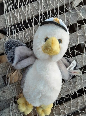Image of Captain Seagull- Ultra soft Plush